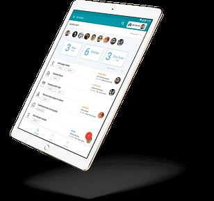 TeamAssurance as seen on an iPad
